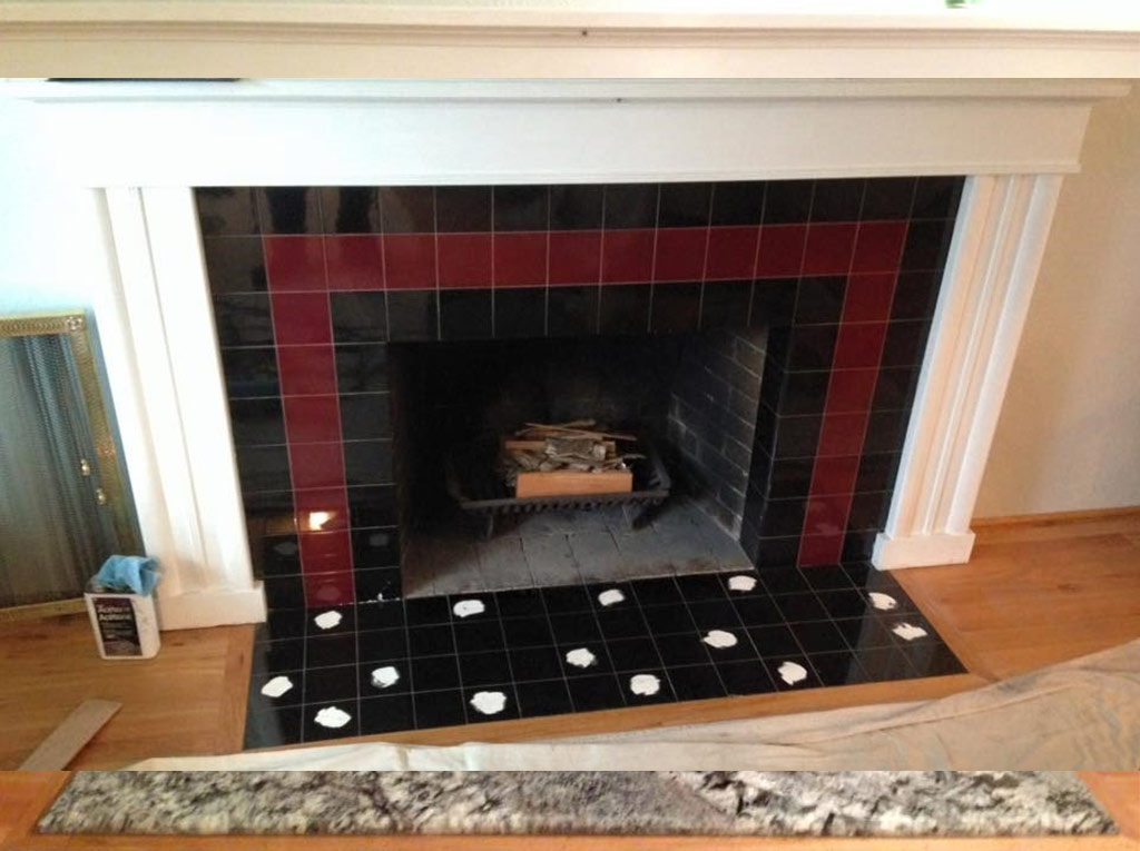 Before & After Fireplace