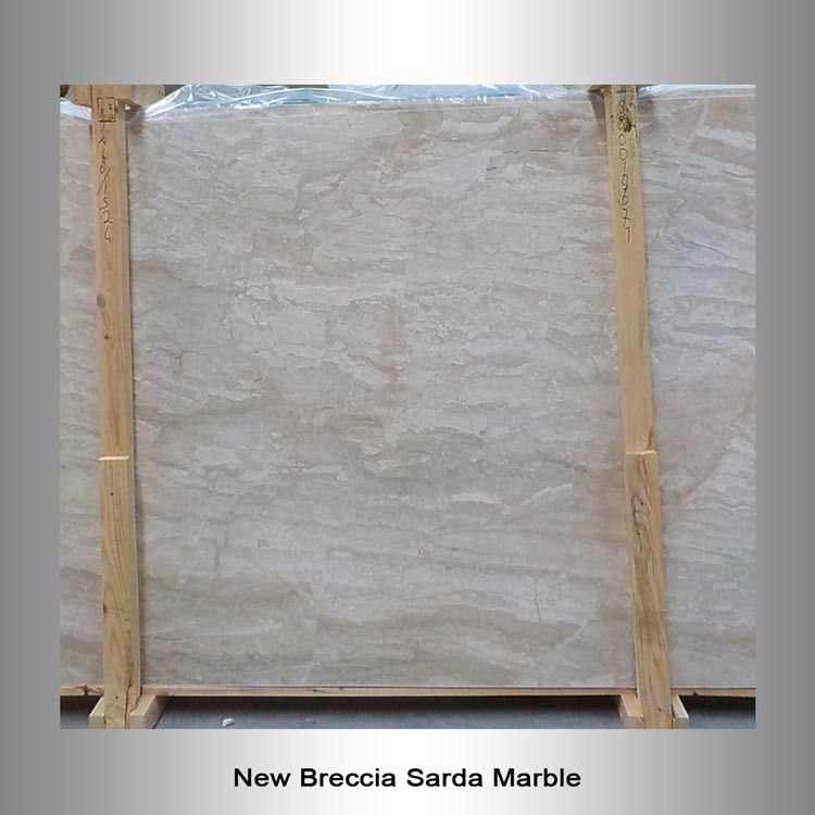 New Breccia Sarda Marble Bullseye The Granite Guy