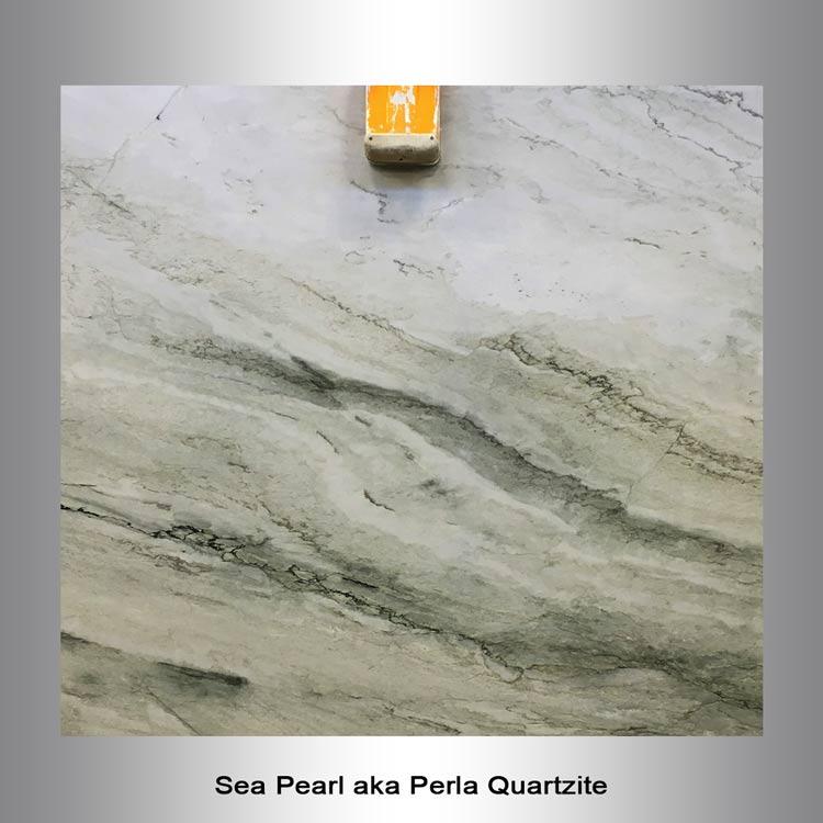 Sea Pearl aka Perla Quartzite