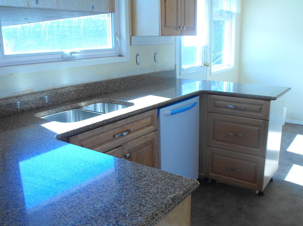 Pental Nirvana Quartz Kitchen w/ Full Bullnose Edge Profile - Saanich, BC