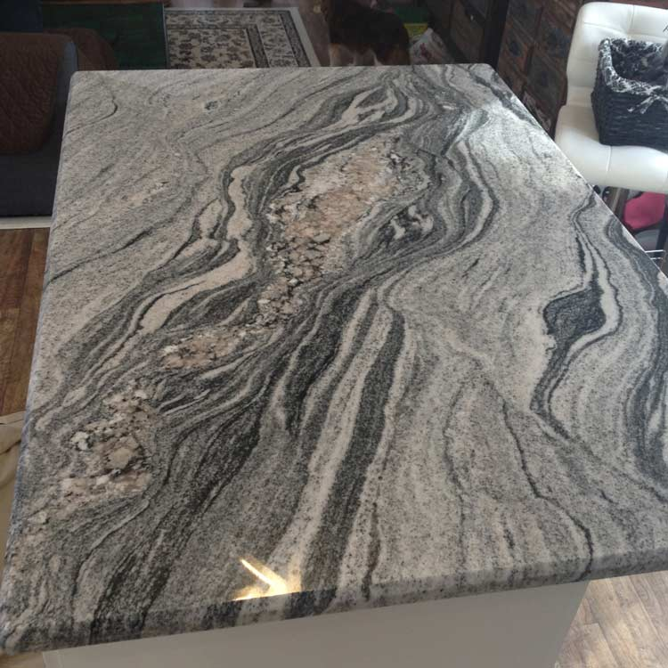 Viscount White Silver Cloud Granite
